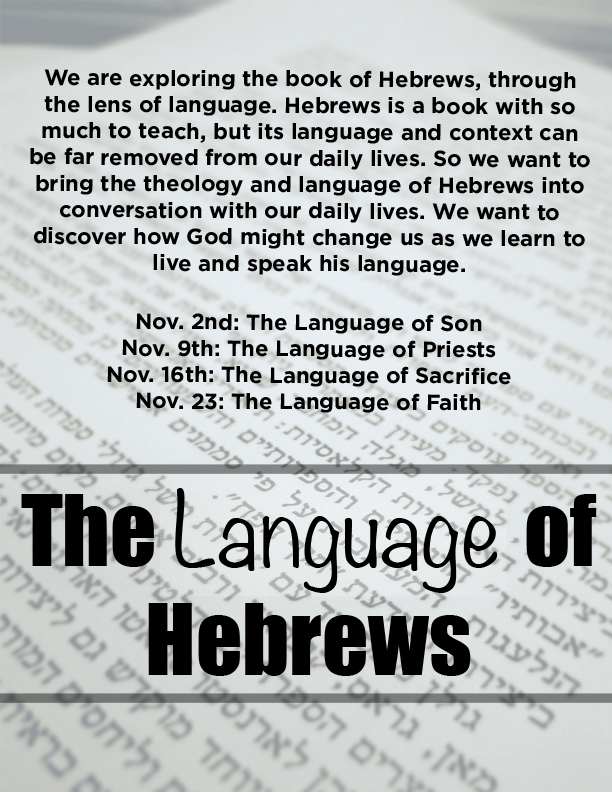 Language of Hebrews
